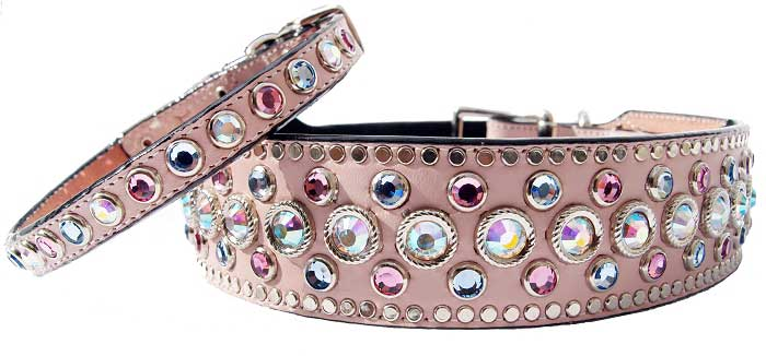 BLING DOG COLLARS & LEADS